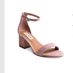 Steve Madden block heel sandals - mauve